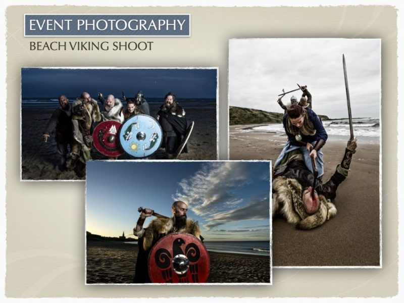 Beach Viking shoot