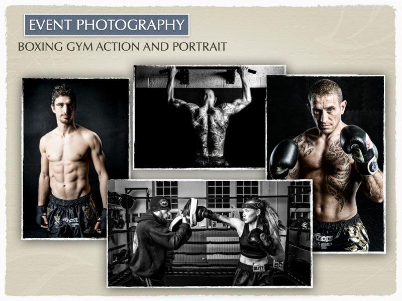Boxing Gym Action & Portrait